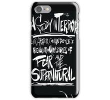 A Study In Terror iPhone Case/Skin