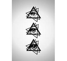 New World Order Illuminati Photographic Print