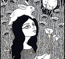 Celestial Rabbit by Anita Inverarity