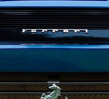 Ferrari Emblem and Taillight by Jill Reger