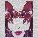 Black Orchid Eyes T by Seth  Weaver