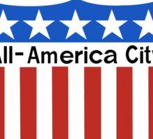 The Bronx All-America City Sign, New York Sticker