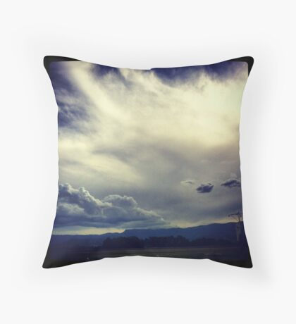 Albion Park Airport Throw Pillow