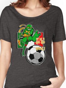 Italy Go go goal! Women's Relaxed Fit T-Shirt