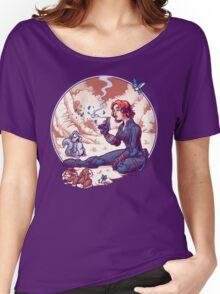 A Not Snow White Widow Women's Relaxed Fit T-Shirt