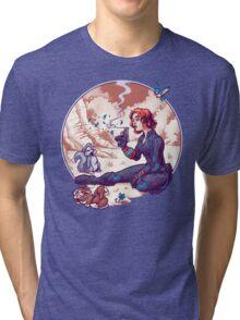A Not Snow White Widow Tri-blend T-Shirt