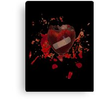 It will heal # 2 (Heart on heart) Canvas Print