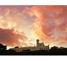 Peach Castle Photographic Print