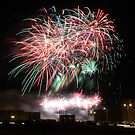 Algerian Independence Day Fireworks II by Omar Dakhane