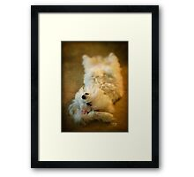 Crash Landing Upside Down Framed Print