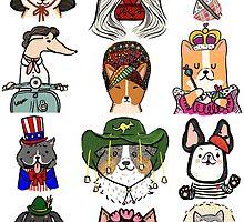 Dogs Around the World by fluffymafi
