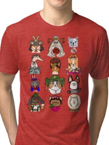 Dogs Around the World Tri-blend T-Shirt
