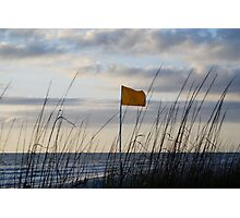 Rip Current Warning Photographic Print