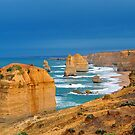 The Twelve Apostles. Port Cambell National Pk, Victoria, Australia. by Ralph de Zilva