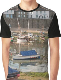 Evening In Mousehole Graphic T-Shirt