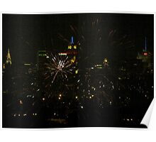 July 4th, New York City Poster