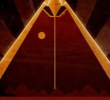 Olympus Mons - Mars - Travel Poster by Ron Guyatt