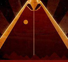 Olympus Mons - Mars - Travel Poster by Ron Guyatt