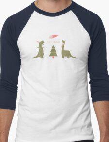 Merry Extinction Men's Baseball ¾ T-Shirt