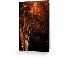 The Sparks All Fly Greeting Card