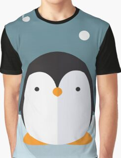 Penguin in the Snow Graphic T-Shirt