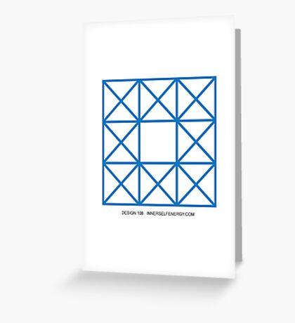Design 108 Greeting Card
