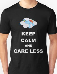 Keep Calm and Care Less T-Shirt