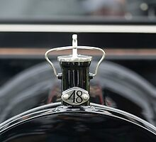 1914 Packard 3-48 Touring Hood Ornament by Jill Reger