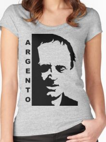 Dario Argento black Women's Fitted Scoop T-Shirt