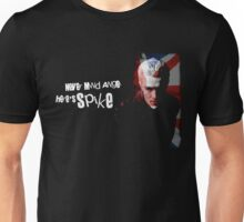 Never Mind Angel Here's Spike Unisex T-Shirt