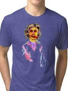 Knitted Lady #1 Tri-blend T-Shirt