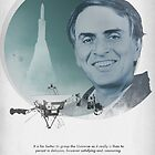 Carl Sagan Poster by cmiles