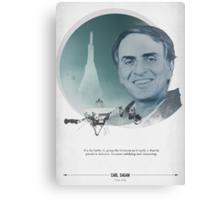 Carl Sagan Poster Canvas Print