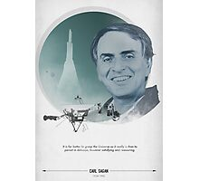 Carl Sagan Poster Photographic Print