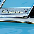 1956 Ford Fairlane Skyliner Emblem by Jill Reger