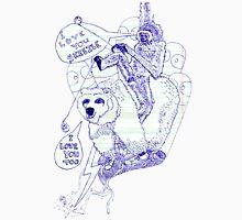 I LOVE YOU SKEEZLE (for Paul Brown) Unisex T-Shirt