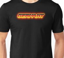 Germany - German Flag Logo - Glowing Unisex T-Shirt
