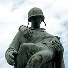 Soldier Statue At Liberty State Park by Jane Neill-Hancock