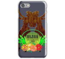 Weed Maui dancer gifts iPhone Case/Skin