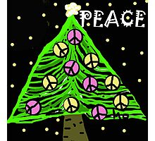 Green Peace Tree Photographic Print