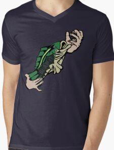 Slap Da Bass Mens V-Neck T-Shirt