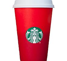 Starbucks Red Cup by munchakoopas9
