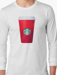 Starbucks Red Cup Long Sleeve T-Shirt