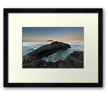 """The Giant's Causeway"" ∞ Fingal Head, NSW - Australia Framed Print"