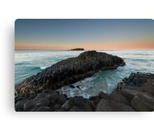 """The Giant's Causeway"" ∞ Fingal Head, NSW - Australia Canvas Print"