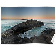 """The Giant's Causeway"" ∞ Fingal Head, NSW - Australia Poster"