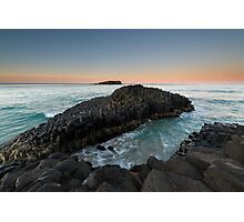 """The Giant's Causeway"" ∞ Fingal Head, NSW - Australia Photographic Print"