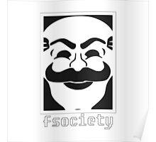 F Society Mask Poster