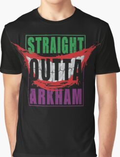 Straight Outta Arkham Graphic T-Shirt
