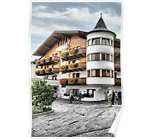 Austrian Hotel Poster